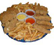 Boneless Chicken Finger Fillet Platter
