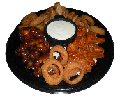 Wings & Rings Party Platter